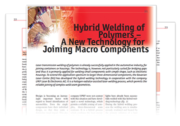 A New Technology for Joining Macro Components