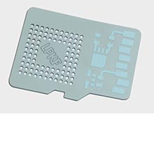 Unfired ceramic application for the MicroLine 2000 P/S